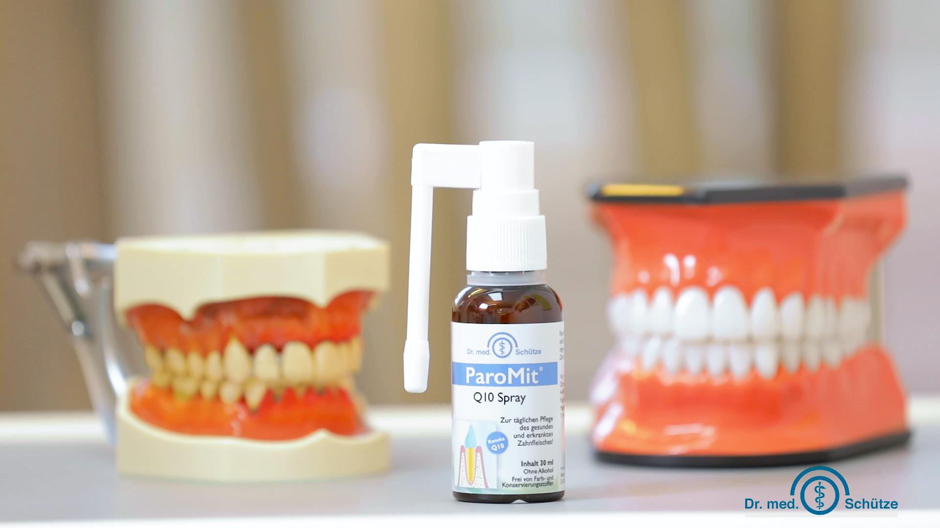 ParoMit® Q10 Spray + Zähne